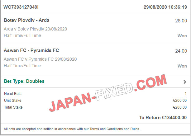 japanese fixed matches 100% sure