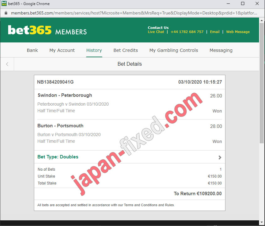fixed matches asia 100%